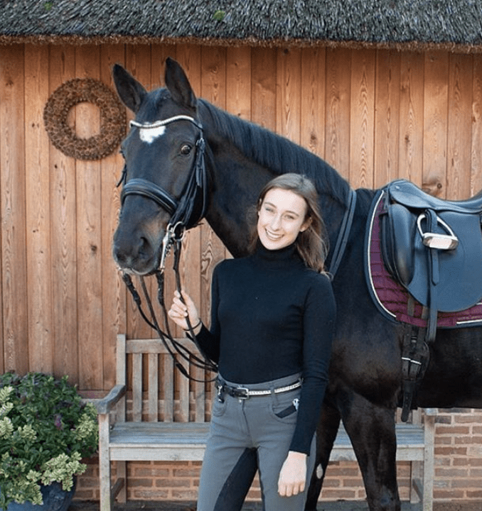Lauranne Lammens - Young Riders Internationaal